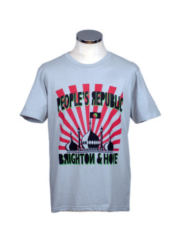 People's Republic of Brighton & Hove t shirt